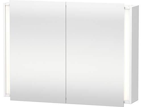 Duravit Spiegelschrank Ketho 180x100x750mm 2 Spiegeltüren, weiß matt, KT753201818