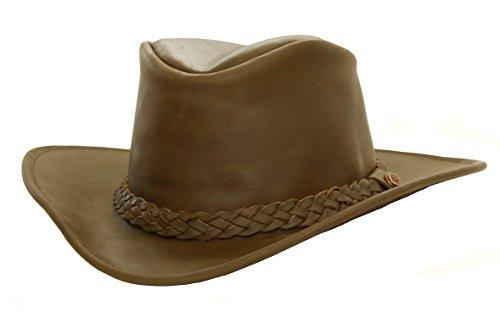 Kakadu Western Lederhut Australian Style- Paxton mit formbarer Krempe, 2.Wahl