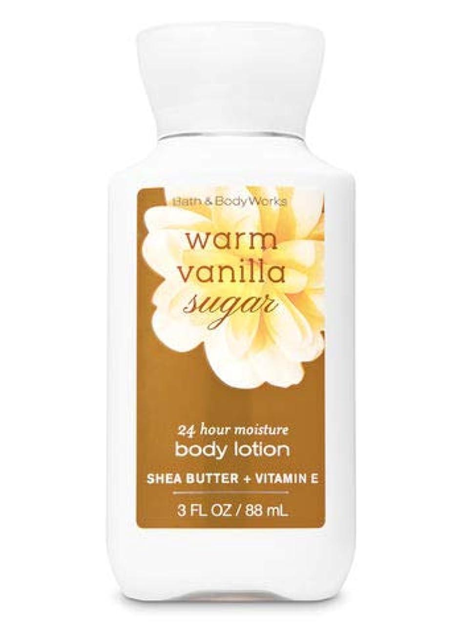 アンソロジー社会主義フレアBath & Body Works ミニ ボディーローション- Warm Vanilla Sugar*???????? ?????【並行輸入品】