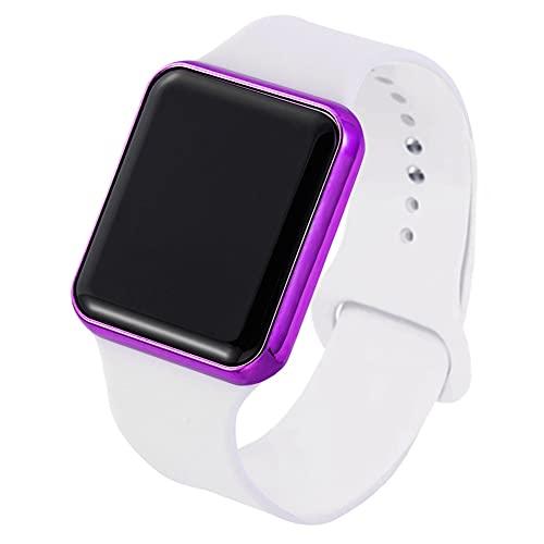 Mymgg Sport Digital Watch Women Men Square LED Watch Silicone Electrony Watch Women's Relojes Reloj Relogio Feminino Digital Reloj,013