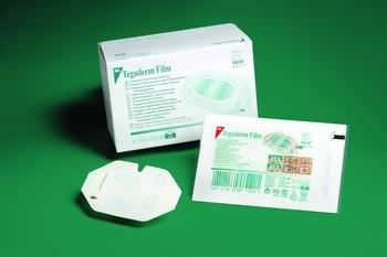 Tegaderm 3M Transparente Folien-Verbände mit Rand, 2,375 x 2,75 (Box mit 100 Stück)