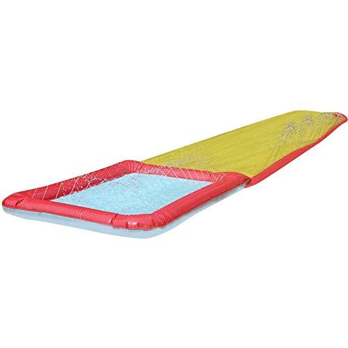 Tobogán Alargado único 450 * 70cm Juguete de pulverización de Agua para césped al Aire Libre Gran Juguete Inflable para niños de Surf Windsurf