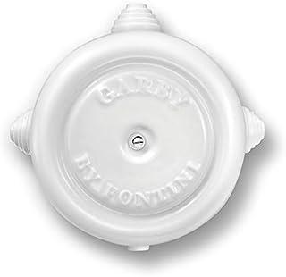Fontini 30399272 Caja de Empalmes /Ø 78 mm Negra Porcelana