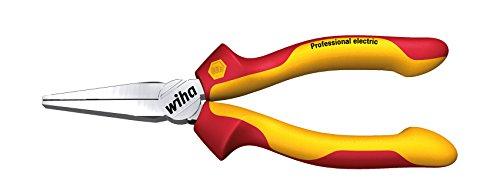 WIHA 26732-Alicates de Puntas Planas Z 07 0 06 160 mm Professional Electric Ref. Z07016006, Color:, 160mm