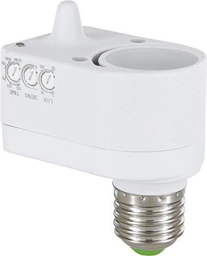 Rilevatore di movimento HF a 360°, adatto a LED, adattatore E27 su E27