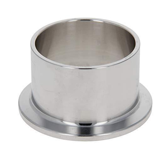 Virola de tubo de vacío Acero inoxidable 304 55 mm Brida Diámetro de soldadura de tubo de vacío en férula 1PCS 30mm Longitud