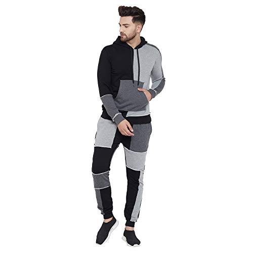 Fugazee Men's Sweatshirt and Joggers Combo Tracksuit