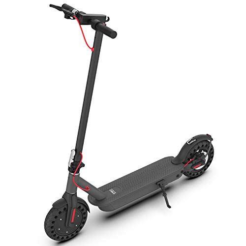"Hiboy S2 Pro Electric Scooter - 10"" Solid Tires - 25 Miles Long-range & 19 Mph Folding Commuter Electric Scooter for Adults"