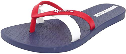 Ipanema Damen Zehentrenner Kirei 81805/2019 (41/42 EU, Blue/red/White (23504))