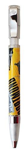 benu Kugelschreiber Dortmund Skyline Rundum bedruckter mit gummierter Grifffläche, Kunststoff