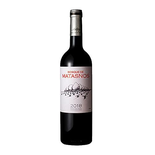 Vino Tinto Etiqueta Blanca Bosques de Matasnos de 75 cl - D.O. Ribera del Duero - Bodegas Bosques de Matasnos (Pack de 1 botella)
