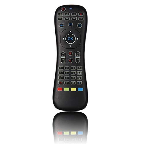 Gfhrisyty TK628 Control Remoto Inteligente, Mouse y Teclado de Aire, Control Remoto InaláMbrico de TV de 2.4G con RetroiluminacióN de Voz Infrarroja