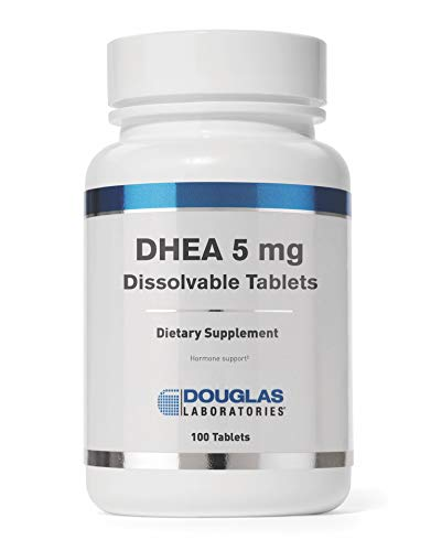 Douglas Laboratories - DHEA 5 mg - Dissolvable to Support Immunity, Brain, Bones, Metabolism and Lean Body Mass - 100 Tablets