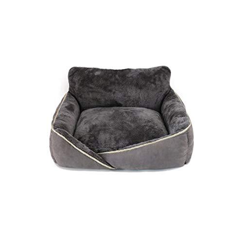 GLMAS Nido para gatos, nido de perro, nido de mascotas, cama cómoda para mascotas moderna cama extraíble y lavable universal para cuatro estaciones cálidas en invierno, apto para mascotas grandes, medianas y pequeñas
