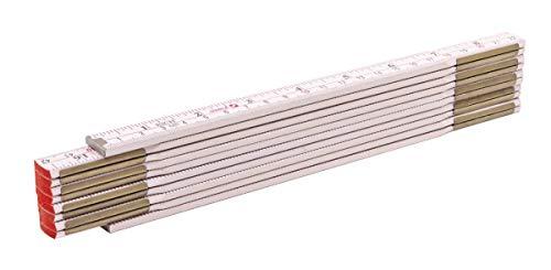 bester Test von binare optionen broker STABILA Holzfaltlineal Typ 1607, 2 m, weiß, gemischte Skala (metrisch / Zoll)
