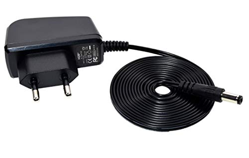 HQRP Cargador de CA para Digitech Whammy DT / iStomp / RP-90 / RP-70 / RP-55 Pedal de Efectos de Guitarra