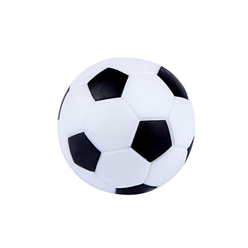 Newin star One-Pack-Tabelle Fußball Fußbälle Ersatz Mini-Kunststoff-Schwarz-Weiß-Fußball