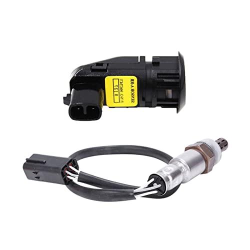 yimo 1 UNIDS Aparcamiento inalámbrico Sensores PDC 2pcs O2 Sensor de oxígeno Fit for Chevrolet Captiva 2008 2009 2010 2.4L 964156408 (Color : Gray)