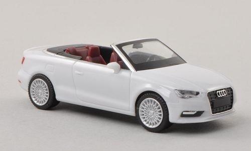 Audi A3 Cabrio, Weiss , Modellauto, Fertigmodell, Herpa 1:87