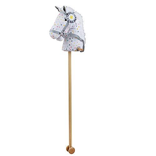 Bigjigs Toys Caballo de Hobby con asas y ruedas de agarre