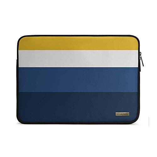 """DailyObjects Sunrise Quad Canvas Zippered Sleeve for 14""""..."""
