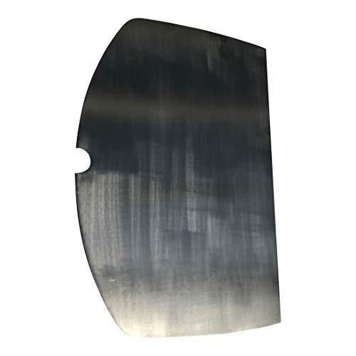 Edelstahl GRILLPLATTE/PLANCHA V2A passt für Grills Weber Q 300 Q320 Q3000 Q3100 Q3200 / Q 300 / Q 320 / Q 3000 / Q3100 / Q 3200