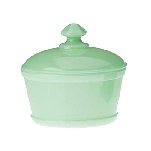 Jadeite Round Butter Dish / Tub by Mosser Glass