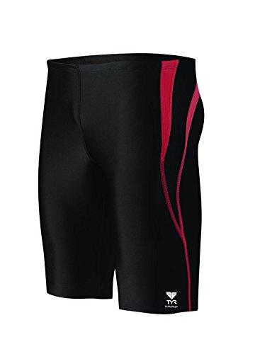 TYR SPSP7Y222 Alliance Spl Jammr Swimsuit Black Red 22