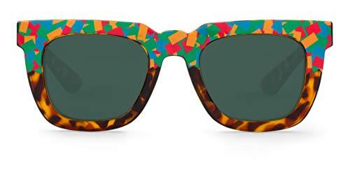 MR BOHO Melrose Montures de Lunettes, Multicolore (Confetti/Classic Lenses), 50 Mixte Adulte