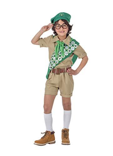 Banyant Toys Disfraz Boy Scout Niño 10-12 años
