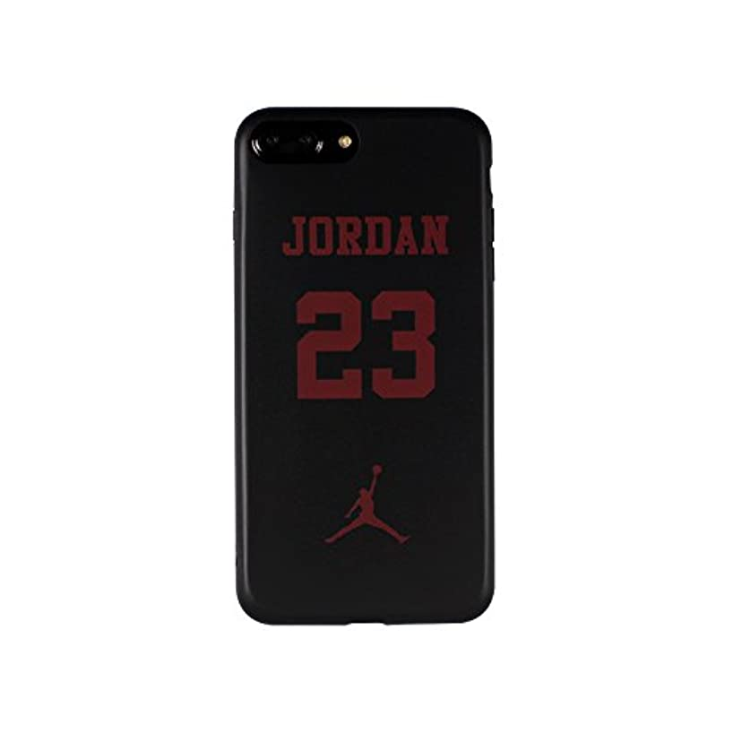 Fashion Flyman Jordan Case Cover for iPhone 7 6 6s Sport Basketball Blue-ray Soft Rubber Case for iphone 8 6s 7 Plus Protective - Black - for iphone 6 6s