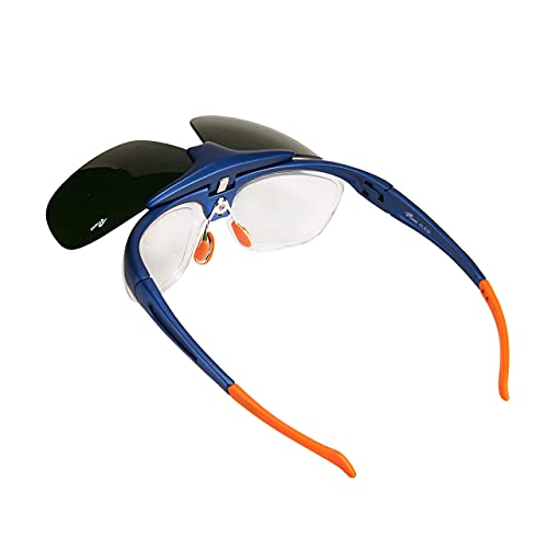Holulo ANSI Z87 Flip-Up Front Welding Goggles Safety Glasses – Use for Welding, Soldering, Torching, Brazing & Metal Cutting (Great as Steampunk Costume)