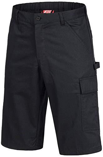Nitras 7500 Frauen-Arbeitshosen Kurz - Shorts für die Arbeit - Schwarz - 48