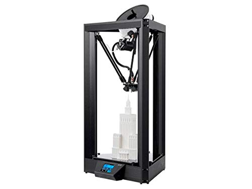 Monoprice Delta PRO 3D Printer with (270 x 300 mm) Heated Glass Build Plate, Auto Leveling, Triple Fan, PID Tuning, Fully Assembled