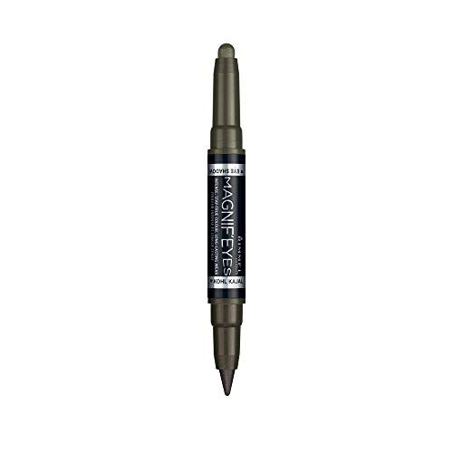 Rimmel - Eyeliner & Ombre à Paupières Magnif'Eyes - Waterproof et Longue Tenue - 009 Mossy Magic - 1,6gr