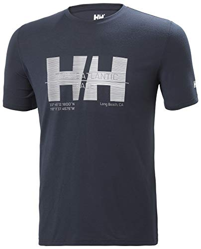 Helly Hansen HP Racing T-Shirt Homme, Bleu Marine, m