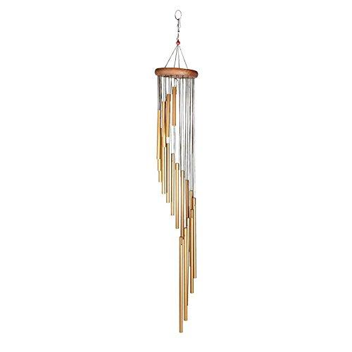 Windspiele, Klangspiele Windspiele im Freien Große, tiefe Töne Amazing Grace Garden Chimes Metall für Garten, Terrasse, Balkon und Zuhause