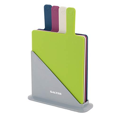 Salter BW04768 Set di taglieri, Legno, Multicolore, 23.5 x 8 x 33 cm, 4 unità