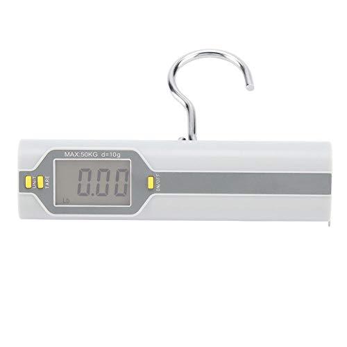 Pasamer Báscula de Equipaje Colgante portátil Báscula de Maleta electrónica Digital de 110 LB 50 kg