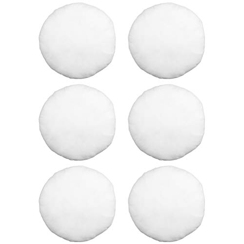 Why Should You Buy Hometex Canada Pillow Insert 26 Round Polyester Filled Standard Cover (6 Pack)