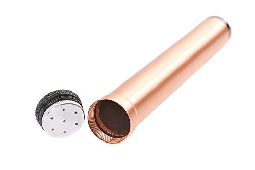 The Khan Outdoor & Lifestyle Company Etui à Cigare de Voyage en Aluminium allié, 7.68\