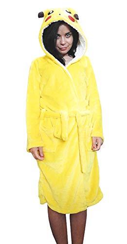 Badjas - nachtjas - mannelijk - pyjama - unisex - vrouwelijk - vrouw - met capuchon en riem - zachte fleece - karakters - origineel cadeau-idee