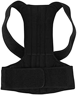 Beauenty for Fitness Equipment Back Adjustable Posture Corrector Clavicle Support Belt Back Slouching Corrective Posture C...