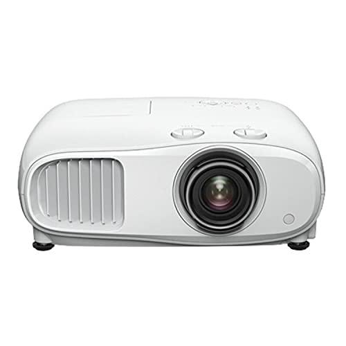 ABCD Proyector de Cine en casa, proyector de conferencias en línea de Office Home, Compatible con la resolución más Alta 3840 × 2160, 3000 lúmenes, Altavoces 10 W