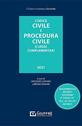 Codice civile e procedura civile udienza 2021
