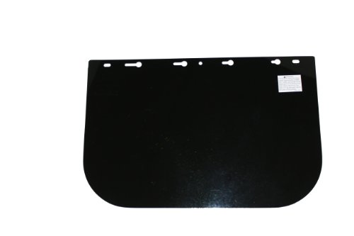 Sellstrom Replacement Window for 390 Series Safety Face Shields, Uncoated Acetate, Dark Green Tint, S35020