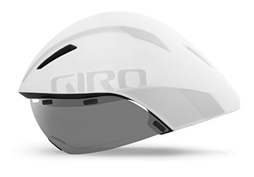 Giro Aerohead MIPS Adult Road Cycling Helmet - Medium (55-59 cm), Matte White/Silver (2021)