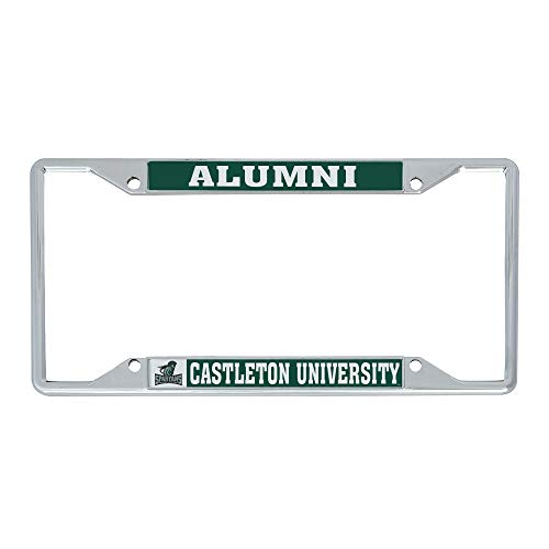 Desert Cactus Castleton University NCAA Metal License Plate Frame for Front or Back of Car Officially Licensed (Alumni)