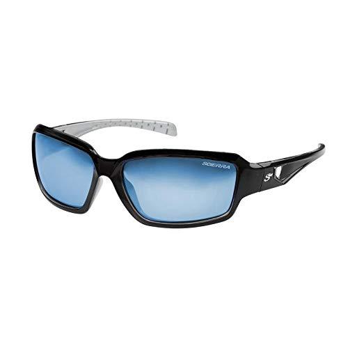 Scierra Street Wear - Gafas de sol polarizadas UV400, color gris y azul