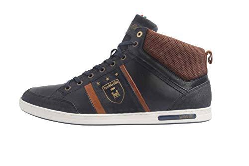 Pantofola d'Oro Herren MONDOVI Uomo MID Hohe Sneaker, Blau (Dress Blues .29y), 45 EU